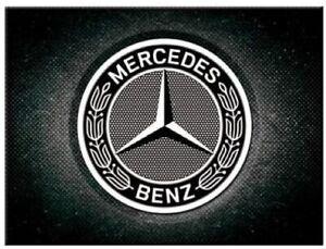 Mercedes Benz (ls) metal fridge magnet (na)