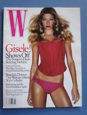 W Magazine June Jun 2005 6/05 Gisele Bundchen Tom Ford Fashion Vintage Rare