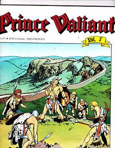 "Prince Valiant Vol 7-1989-Strip Reprints Soft Cover-"" Roman Wall -1st Print """