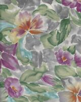 Fabric, Benartex International Collection, Large Floral Print in Purple, by/yard