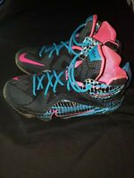 Nike Girls Lebron XII Soldier Sneakers Youth SZ 5.5Y Basketball 685181-004 2015