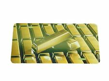Gold Bars License Plate 6 X 12 Inches New Aluminum