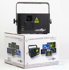 Laserworld CS-1000 RGB MKII Showlaser DMX ILDA