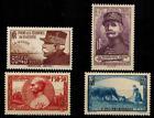 France Série des timbres N° 454 à 457 Neuf **