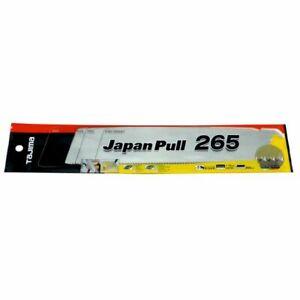 "Tajima GNB265 265mm (10-1/2"") Japanese Pull Saw Replacement Blade"