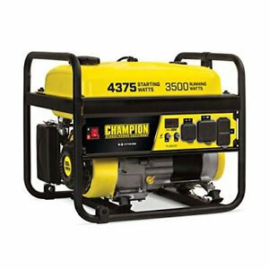 Championn Power Equipment 100555 4375/3500-Watt RV Ready Portable Generator CARB