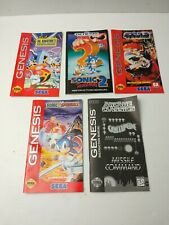 Genesis Game Manuals, SONIC THE HEDGEHOG 2, SONIC SPINBALL + 3 MORE !!