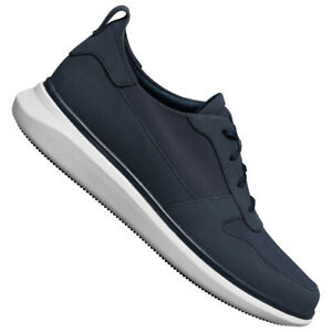 Clarks Un Globe Herren Freizeit Mode Sneaker OrthoLite Schuhe 261496887 blau neu