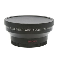 62mm 0.43x Wide Angle Lens with Macro for Canon Nikon Sony Digital Cameras