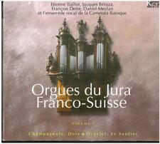 3 CD-Box Orgelmusik Orgues du Jura Franco-Suisse Vol. 1