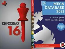 Chessbase 16 + Mega Database 2021
