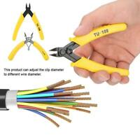 5in Electronic Diagonal Pliers Cable Side Cutting Nippers Wire Cutter Tool LJ