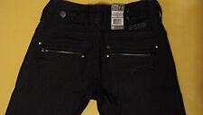 NWT Women's G-Star Raw Corvet Skinny Jeans Denim Pants W26 L32 Made in Italy