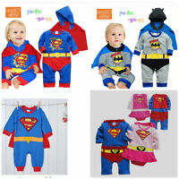 Baby Toddler Fancy Dress Party Superman Costumes Playsuit Jumper Size 0-24m Gift