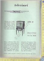 NOVA - Televisore ETE 17 - Serie ANIE TV- Anni '60