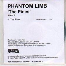 (DB115) Phantom Limb, The Pines - 2011 DJ CD