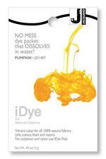 Jacquard iDye Fabric Dye Natural Fibres  14g  - Pumpkin