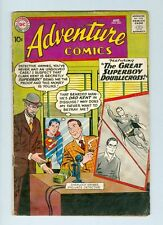 Adventure #263 August 1959 G+ The Great Superboy Doublecross