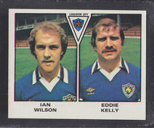 PANINI-FOOTBALL 80 - # 437 Wilson / Kelly-Leicester
