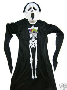 Halloween Ghost Boys Costume Wholesale Large Sz 7 - 10 X 10 Sets