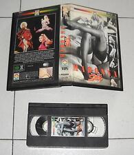 VHS MADONNA Non solo sex EDEN VIDEO cassette 1 ed OTTIMO Italy Videotape