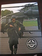 LWRC International 2010-2011 Gun Fireaerms Military Catalog Booklet New 17 Pages