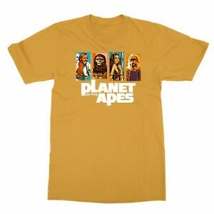 Planet Of The Apes Vintage Sci Fi Movie Film Men's T-Shirt