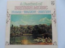 A Festival of British Music Elgar Walton Britten Vinyl LP 6780 753 Double