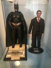 HOT TOYS 1/6 DC THE DARK KNIGHT DX12 BATMAN BRUCE WAYNE FIGURE SIDESHOW DX12