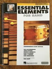 Essential Elements For Band Percussion Learning Book 1