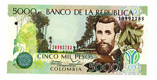 Colombia … P-452 New … 5000 Pesos … 31-Ag-2013 … *UNC*