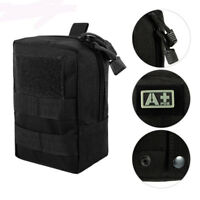 Nylon Molle Tactical Pouch Military Compact Waist Bag Pack Small Gadget Backpack