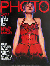PHOTO 147 1987 Madonna Mandy Smith Bette Midler Numero Speciale Rock