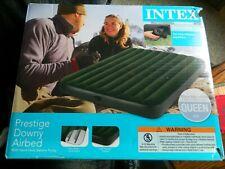 Intex Queen air mattress 8.75 inches deep w/battery pump