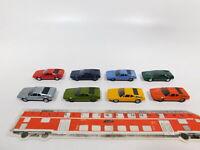 CG470-0,5# 8x Herpa H0/1:87 PKW-Modell BMW M1, sehr gut