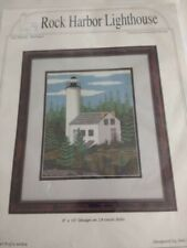 Counted cross stitch kit Rock Harbor Lighthouse