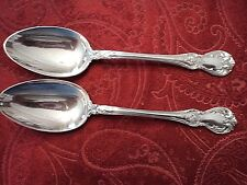 "2-Towle Old Master Sterling Teaspoons 6"" No Monogram"