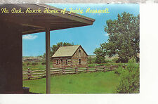 Ranch Home of President Teddy Roosevelt Medora Nd Chrome Postcard 2267