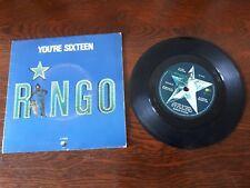 "THE BEATLES - RINGO STAR - 7"" 45 E.P. VINYL RECORD w PICT SLV - 1973 AUSTRALIA"