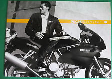 DUCATI MOTO SUPERSPORT 750SS 900SS 750 SPORT 900 CATALOGO CATALOG DEPLIANT
