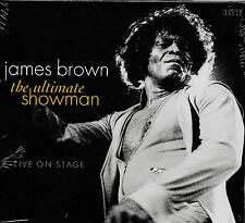James Brown-The Ultimate showman-Live in Concert 3-cd NUOVO & OVP