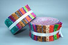 "Fabric Freedom Jelly Roll Strips - Melody - 40 pieces 2.5"" x 44"" FJ5612"