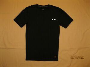"""Champion"" BLACK dri-fit ATHLETIC short-sleeve TOP shirt, size S"