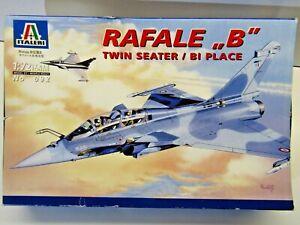"Italeri 1:72 Scale Rafale ""B"" Twin Seater / Bi Place Model Kit - New - Kit # 092"