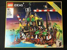 LEGO IDEAS 21322 Pirates of Barracuda Bay 2545 Pieces Brand New Sealed