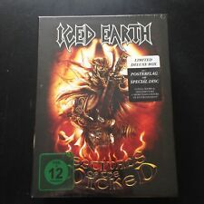 [SEALED]Iced Earth – Festivals Of The Wicked EU CD+2DVD Box Set, Deluxe Edition