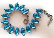 Modeschmuck-Armbänder im Ketten-Stil aus Glas für Damen