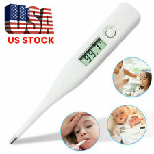 Digital LCD Thermometer Baby Adult Body Fever Safety Ear Mouth Arm Temperature Y