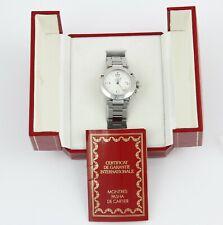 Cartier Pasha Automatik Herren Uhr Referenz 2324 Edelstahl 36mm OVP