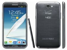New listing New Gray Verizon Gsm Unlocked 16Gb Samsung Galaxy Note 2 I605 Phone Kj22